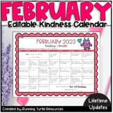 February 2020 Kindness Calendar February Kindness Calendar Worksheets & Teaching Resources | TpT