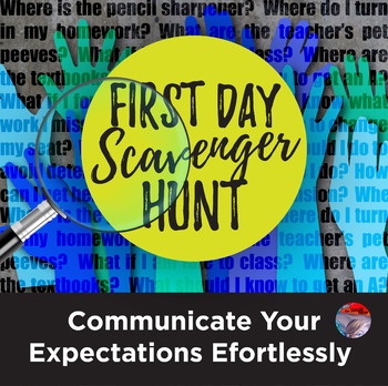 [NEW] First Day Scavenger Hunt