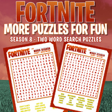 *NEW* Fortnite - SEASON 8 - TWO WORD SEARCHES FROM THE NEW SEASON