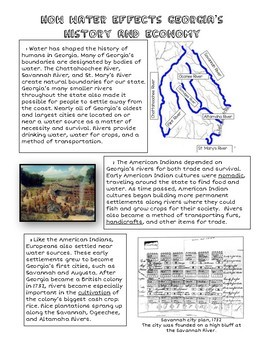 *NEW GSE Standard* SS8G1D: Guided Reading and RACE Constructed Response