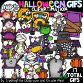 **NEW- Halloween GIFs Clipartimation {Halloween GIFs}