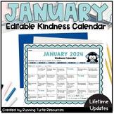 *NEW* January 2019 Kindness Calendar