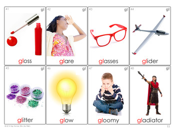 *NEW* /L/ BLENDS Articulation 60 Photo Cards : Speech Therapy