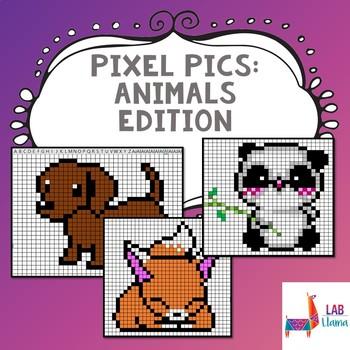 Pixel Pics: Animals Edition
