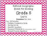 **NEW**    National Geographic Reach for Reading Grade 5 Unit 8 Pack!