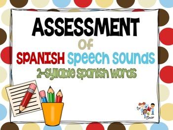 Assessment of SPANISH Speech Sounds Set #1