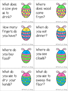Spring into Language!!! Activity Bundle