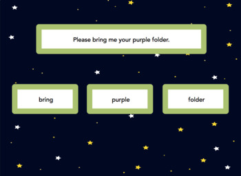 Nouns, Verbs, Adjectives Game Pack