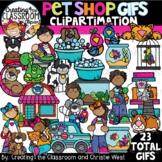 **NEW- Pet Shop GIFs Clipartimation {Pets GIFs}