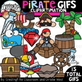 **NEW- Pirate GIFs Clipartimation {Animated Clipart}