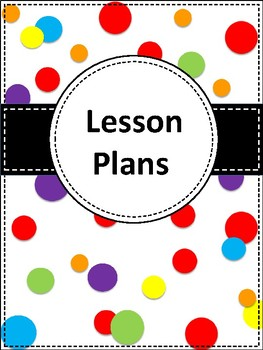 **NEW** Polka Dot Binder Cover and Section Dividers