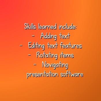 *NEW!* PowerPoint Skills: Thankful Turkey Project
