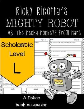 *NEW* Ricky Ricotta's Mighty Robot vs. The Mecha-Monkeys from Mars