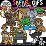 **NEW- Safari GIFs Clipartimation {Animated Clipart}