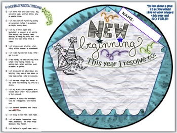 """""""NEW YEAR'S RESOLUTION"""" BALL: TEAM ACTIVITY (DODECAHEDRON)"""