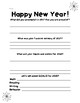 NEW YEAR Reflection Questions and Goal Setting