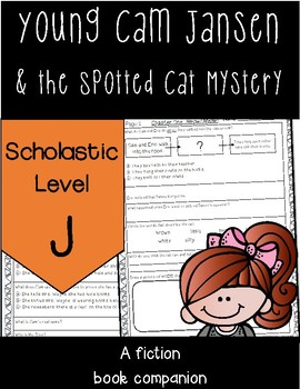 *NEW* Young Cam Jansen and The Spotted Cat Mystery  Scholastic Level J