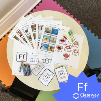 *NEW* F Sound Flashcards and Mini Books