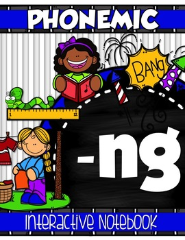 -NG DIGRAPH Interactive Notebook {Phonemic Flap-books}
