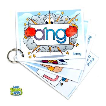 -NG Word Buddy Crew Card Pack (ANG, ING, ONG, UNG)