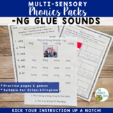 -NG Glued Sounds Orton-Gillingham Multisensory Phonics Activities