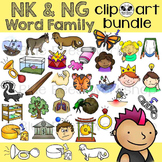 -NK, -NG Word Family Clip Art Bundle