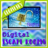 ⭐ NO PREP ⭐ 5th Grade Geometry Escape Rooms Bundle ⭐ 5th Grade Common Core