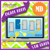 ⭐ NO PREP ⭐ 5th Grade Measurement & Data Escape Room ⭐ Math