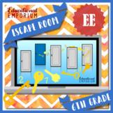 ⭐ NO PREP ⭐ 6th Grade Expressions & Equations Escape Room ⭐ Math
