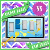 ⭐ NO PREP ⭐ 6th Grade Math Escape Room ⭐ The Number System ⭐