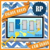 ⭐ NO PREP ⭐ 6th Grade Math Escape Room ⭐ Ratios & Proportional Relationships ⭐