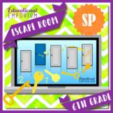 ⭐ NO PREP ⭐ 6th Grade Statistics & Probability Escape Room ⭐ Math