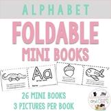 *NO PREP* Alphabet ABC Foldable Mini Books for Pre K and K