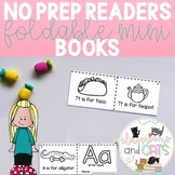 *NO PREP* Alphabet Sentence Foldable Mini Books for Pre K