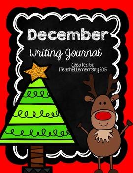 December Writing Journal {NO PREP}