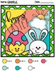 *NO PREP* Easter Color By Addition and Subtraction Math Center