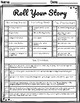 *NO PREP* Easter Roll-a-Story Literacy Center for Upper Elementary