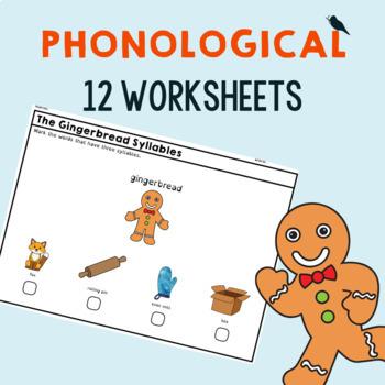 *NO PREP* Gingerbread Man: Speech Therapy Companion #dec16SLPmustHAVE