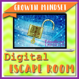 ⭐ NO PREP ⭐ Growth Mindset Escape Room ⭐ Back to School Game