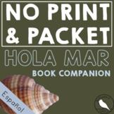 Hola Mar *PRINT & GO* : Summer Spanish Speech Therapy Companion- Phonology/Vocab