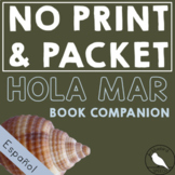Hola Mar *PRINT & GO* : Summer Spanish Speech Therapy Companion- Phonology/Vocab