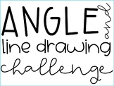 *NO PREP* Line Drawing Challenge (Angles + Perpendicular Lines)