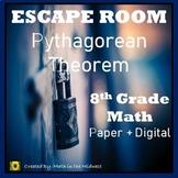 ⭐NO PREP Pythagorean Theorem Escape Room {8th Grade Math}⭐