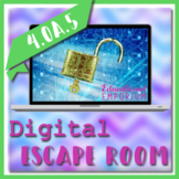 ⭐ NO PREP ⭐ Rules and Patterns Escape Room ⭐ 4.OA.5 Activity ⭐ Sequences