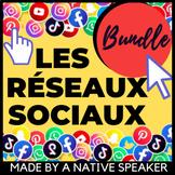 *NO PREP* SOCIAL MEDIA UNIT BUNDLE French listening speaking reading / AP