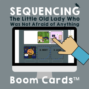 *PRINT & GO* The Little Old Lady Who Was Not Afraid... FALL Speech Companion