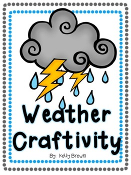 { NO PREP} Weather Writing & Craftivity