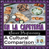 Project Based Learning: En La Cafetería -  Spanish School Lunches Food Beverages