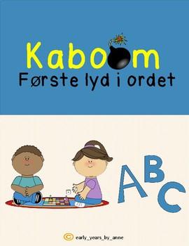 *NORWEGIAN* Første lyd i ordet - Kaboom