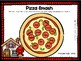 """""""Little Red Hen Makes A Pizza"""" Book Companion for Speech Therapy"""